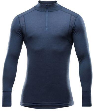 Devold moška športna majica Hiking Man Half Zip Neck, M, temno modra