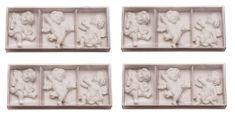Seizis Set bílých andílků 12 ks