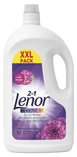 Lenor Folyékony mosószer Amethyst Color 67 mosás