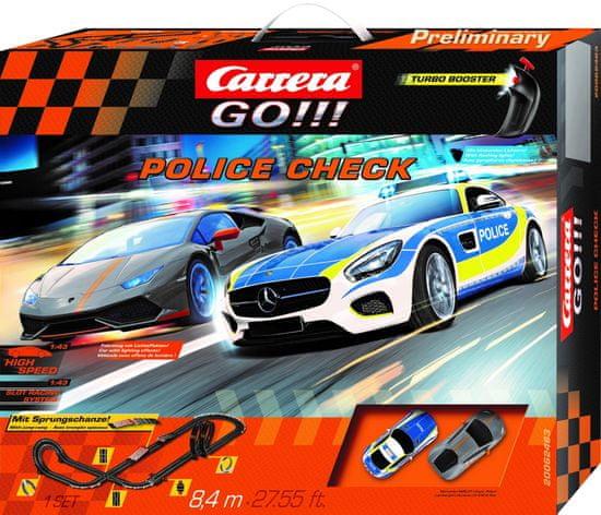 Carrera Autodráha GO 62463 Police Check