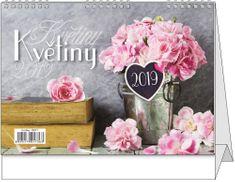 Kalendář stolní žánr. týd. Květiny