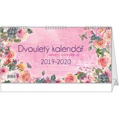 Kalendář stolní žánr. měs. Dvouletý kalendář