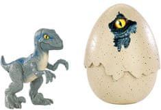 Mattel Jurski svet jaje - Velociraptor Blue