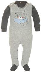 2be3 komplet dziecięcy - śpioszki i koszulka , niedźwiadkiem