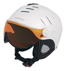 Mango kask narciarski Volcano Pro, biały, 53 - 55