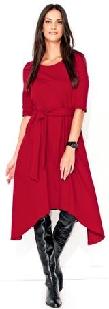 Numinou sukienka damska 40 burgund