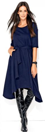 Numinou női ruha 38 sötétkék