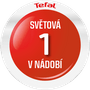 25 - Tefal komplet posod SIMPLEO B815SA74, 10 kosov