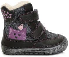 92e387f6608 D-D-step dívčí zimní boty s kočičkou
