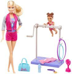 Mattel Barbie Sportovní set - Gymnastka