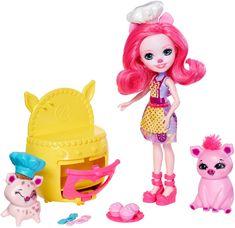 Mattel Enchantimals - Herní set Baking Buddies