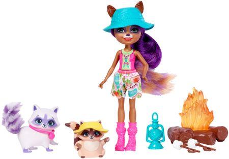 Mattel Enchantimals - Herní set Campfire Friends