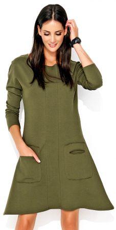 Numinou női ruha 40 zöld