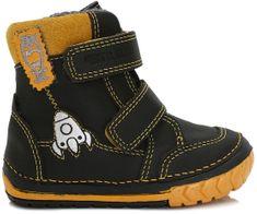 D-D-step chlapecké zimní boty s raketou