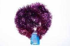 Seizis Vánoční dekorační řetězy 4 ks, fialové