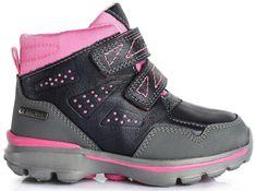 D-D-step dívčí kotníkové boty
