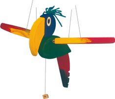 Woody Létací papoušek-malý