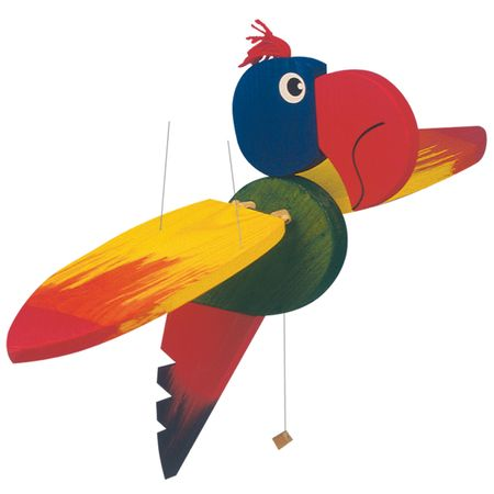 Woody leteča papiga - velika, 50 cm