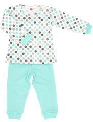 Makoma piżama dziewczęca Mint Dots