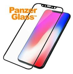 PanzerGlass zaščitno steklo Case Friendly za iPhone XS/X, črno