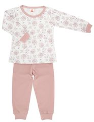 Makoma dívčí pyžamo Flowers