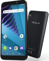 Tesla GSM telefon 3.4, črn