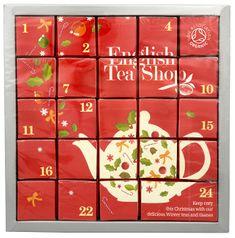 English Tea Shop Adventní kalendář Růžový - luxusní BIO čaje 24 pyramidek/12 příchutí