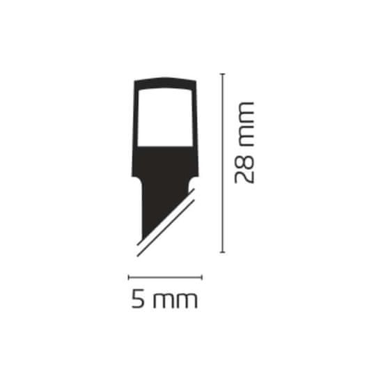 Emos LED mreža, 3xAA, IP44, toplo bela svetloba, s časovnikom