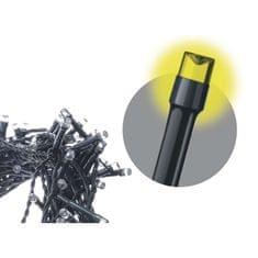 Emos LED řetěz – záclona, 3×AA, IP44, teplá bílá, časovač