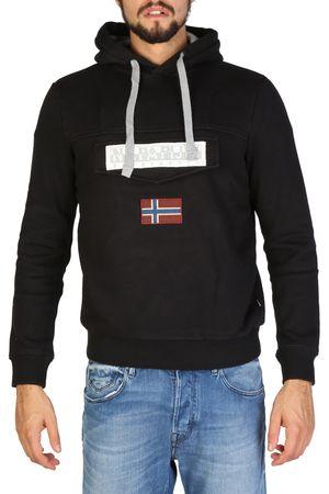 Napapijri moški pulover, črn, M