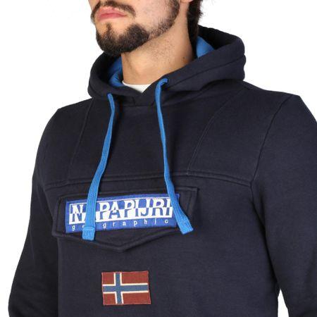 Napapijri pánská mikina M tmavě modrá  430f8fd86c7