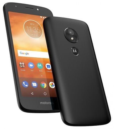 Motorola Moto E5 Play Go, Black (PACR0001RO)