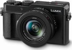 Panasonic fotoaparat Lumix LX100 II, črn