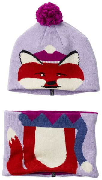 Columbia Snow More Beanie and Gaiter Set Soft Violet Fox