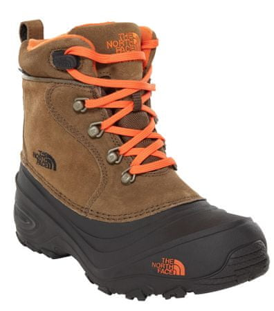 The North Face Y Chilkat Lace II Tyrmac Green/ Scarlet Ibis 37