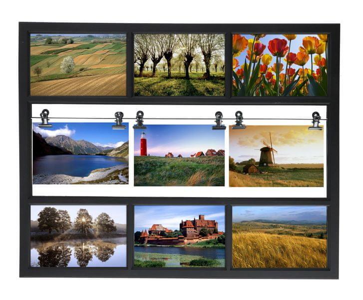 TimeLife Fotorámeček 9 fotek, 48x38cm