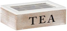 TimeLife Dekorační krabička na čaj