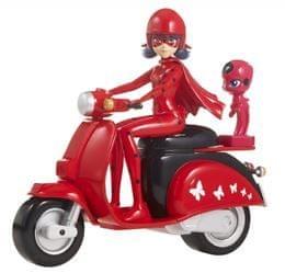 Miraculous Ladybug motor in punčka, 14cm