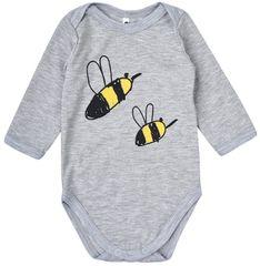 Garnamama Dětské body s včelkami