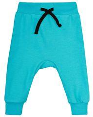 Garnamama chłopięce spodnie dresowe z czarnym sznurkiem