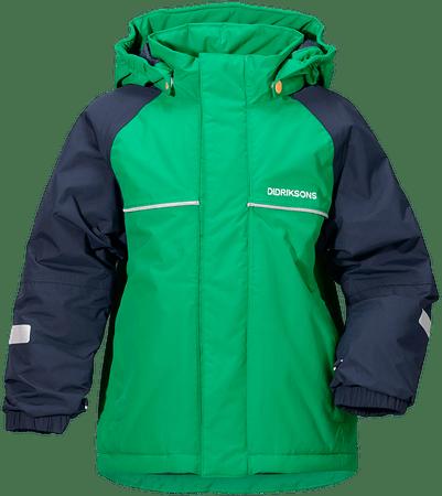 Didriksons1913 chlapčenská bunda Idde 120 zelená  701bb22c940