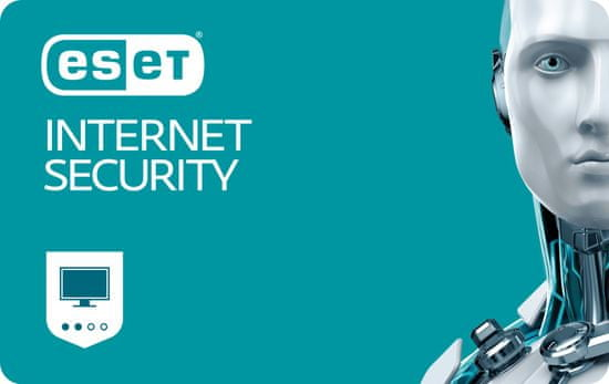 ESET Internet Security pro 1 PC na 1 rok