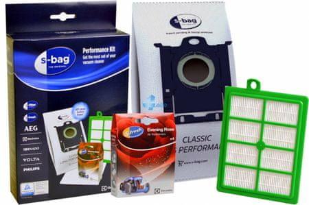 Electrolux 4x vrečke+1x osvežilec+ 1x izhodni filter+ 1x motorni filter SRK1S