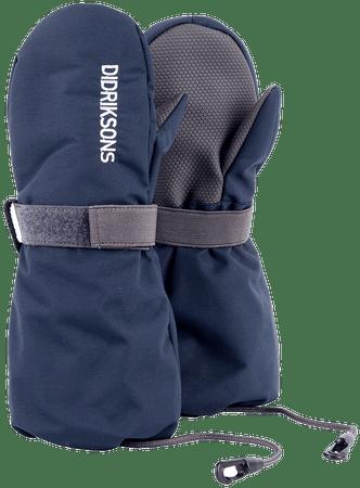 Didriksons1913 dětské rukavice Biggles 2 - 4 tmavě modrá