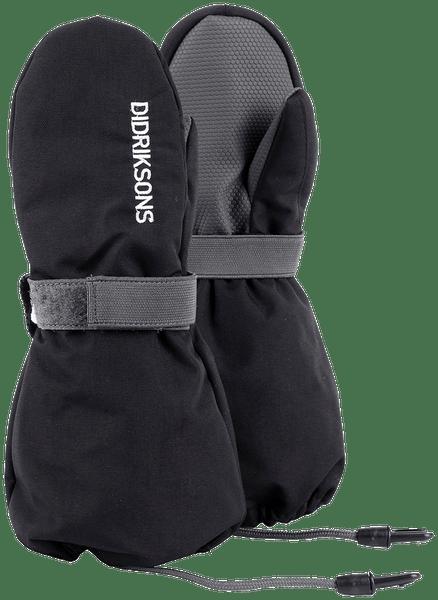 Didriksons1913 dětské rukavice Biggles 6 - 8 černá