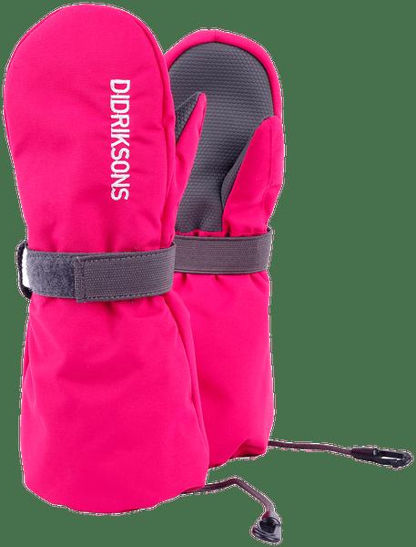 Didriksons1913 dětské rukavice Biggles 6 - 8 růžová