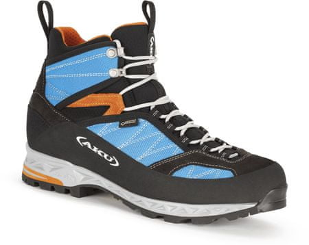 Aku męskie buty trekkingowe Tengu lite GTX, Turquoise/Orange, 7 (41,0)