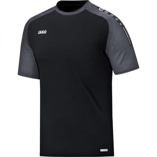 JAKO CHAMP tričko vel. 164, černá/antracitová