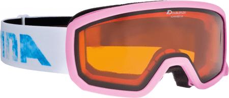 Alpina smučarska očala Scarabeo JR DH Rose, roza