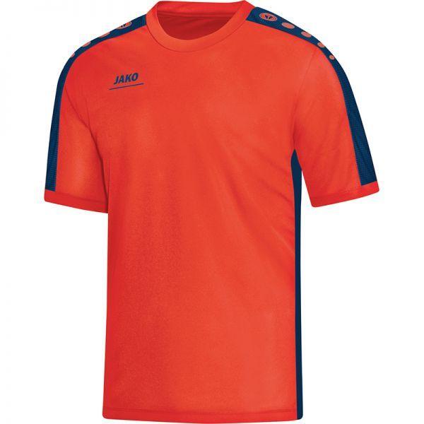 JAKO STRIKER tričko vel. 164, modrá/oranžová